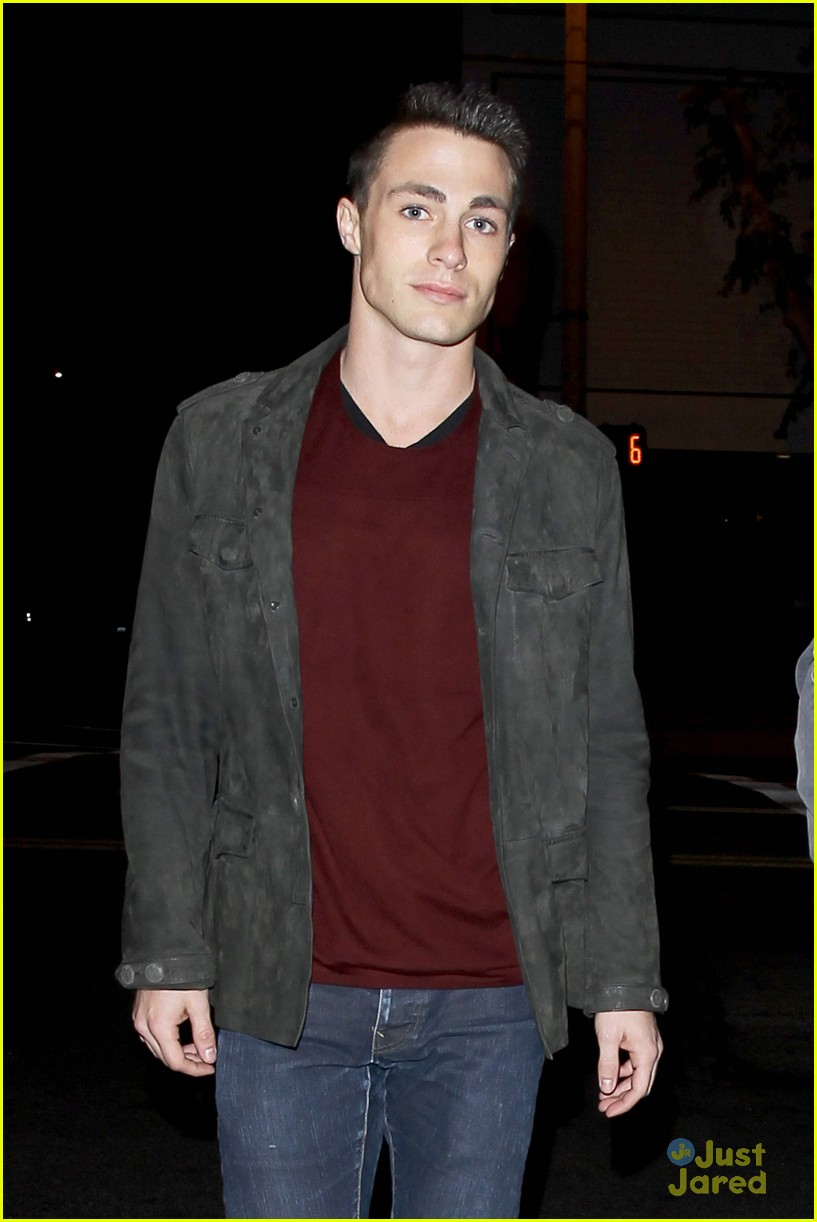 colton haynes bagatelle dinner 01