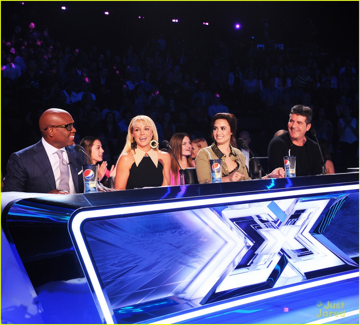 demi lovato xfactor finalist party 14