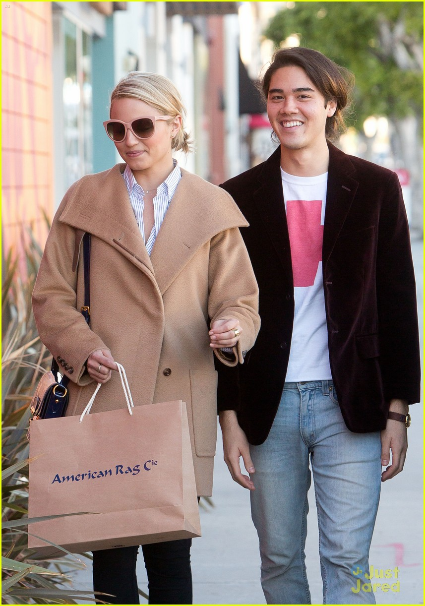 dianna agron rag co shopping 05