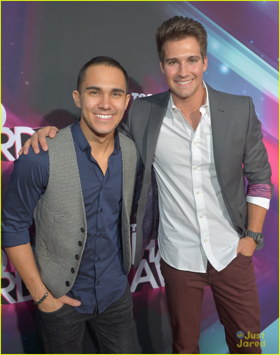 james maslow carlos pena halo awards 04