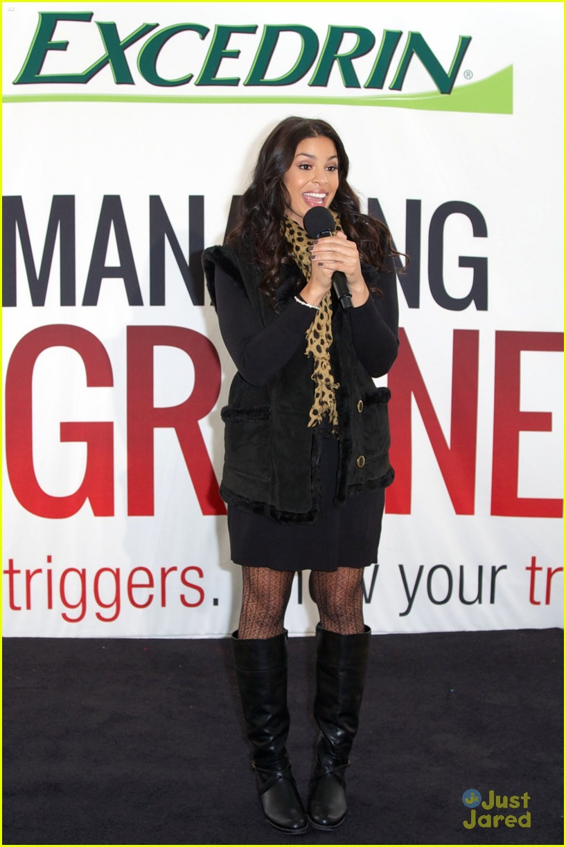 jordin sparks excedrin launch 15
