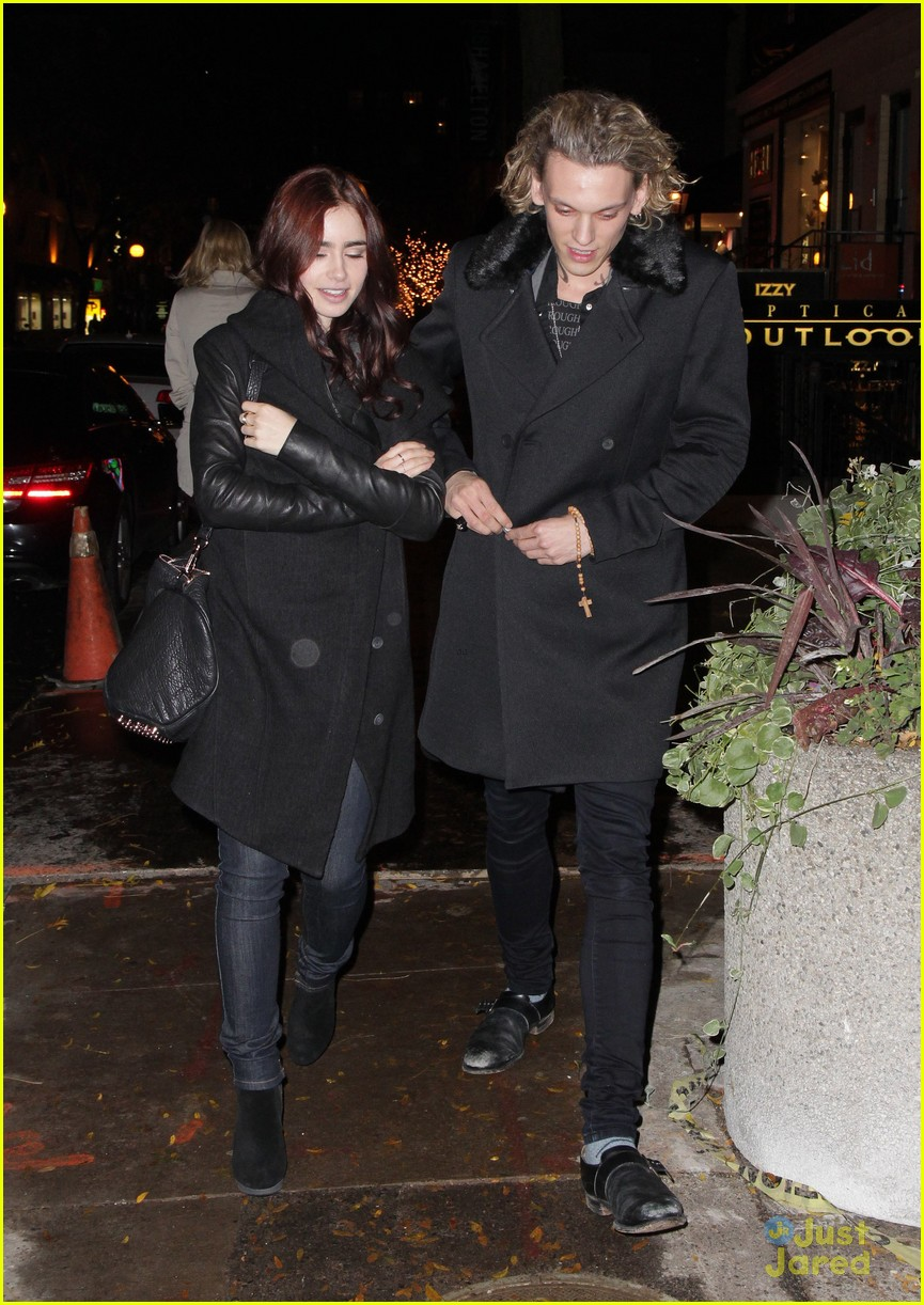 lily collins jamie campbell bower gallery viewing date 05