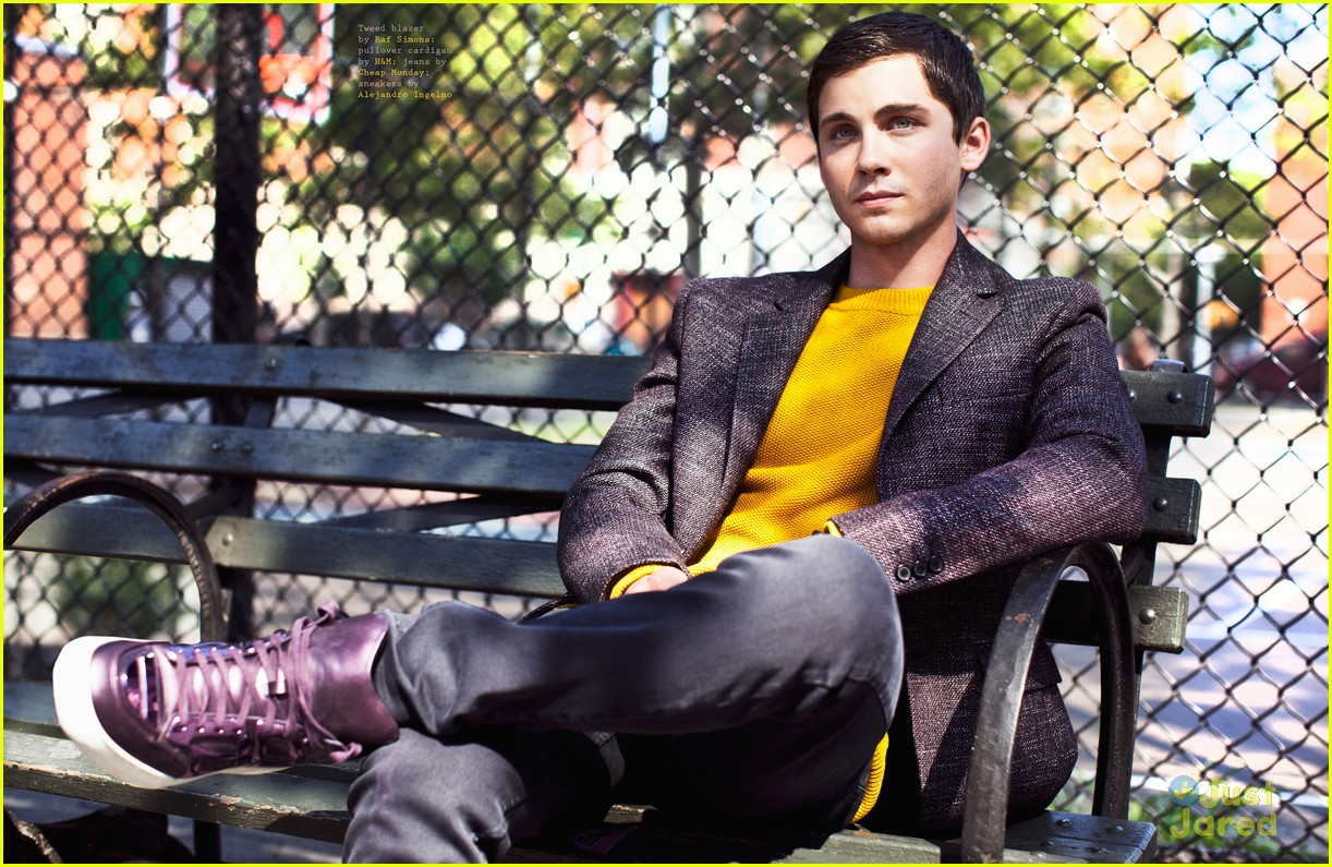 logan lerman visual tales 13