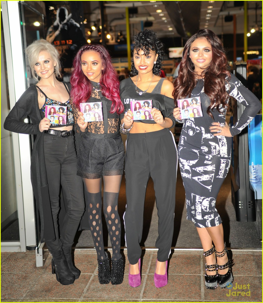 little mix dna signing hmv 05