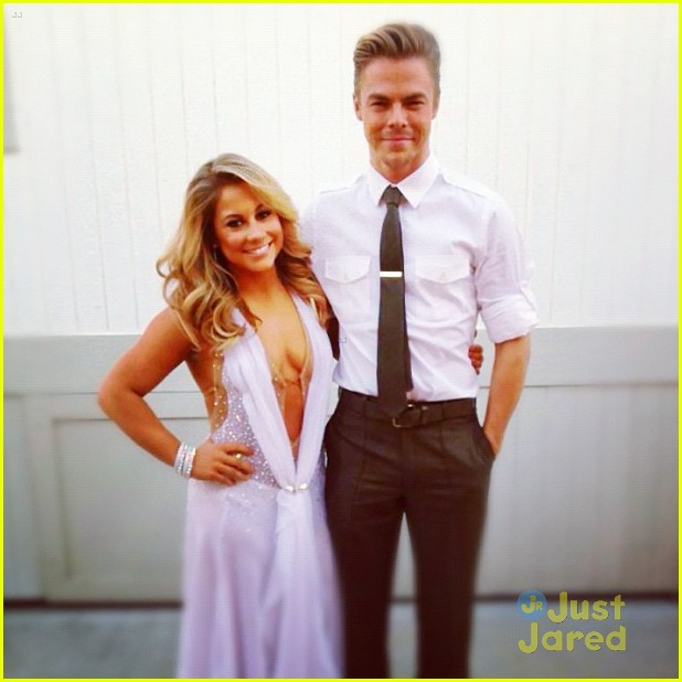 shawn johnson rooftop derek hough 05