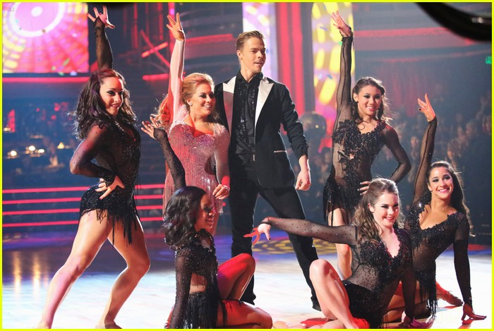 shawn johnson derek hough second dwts 10
