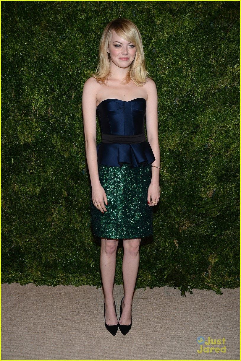 emma stone cfda fashion fund awards 11
