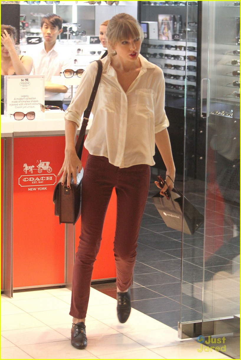 taylor swift sydney shopping spree 10