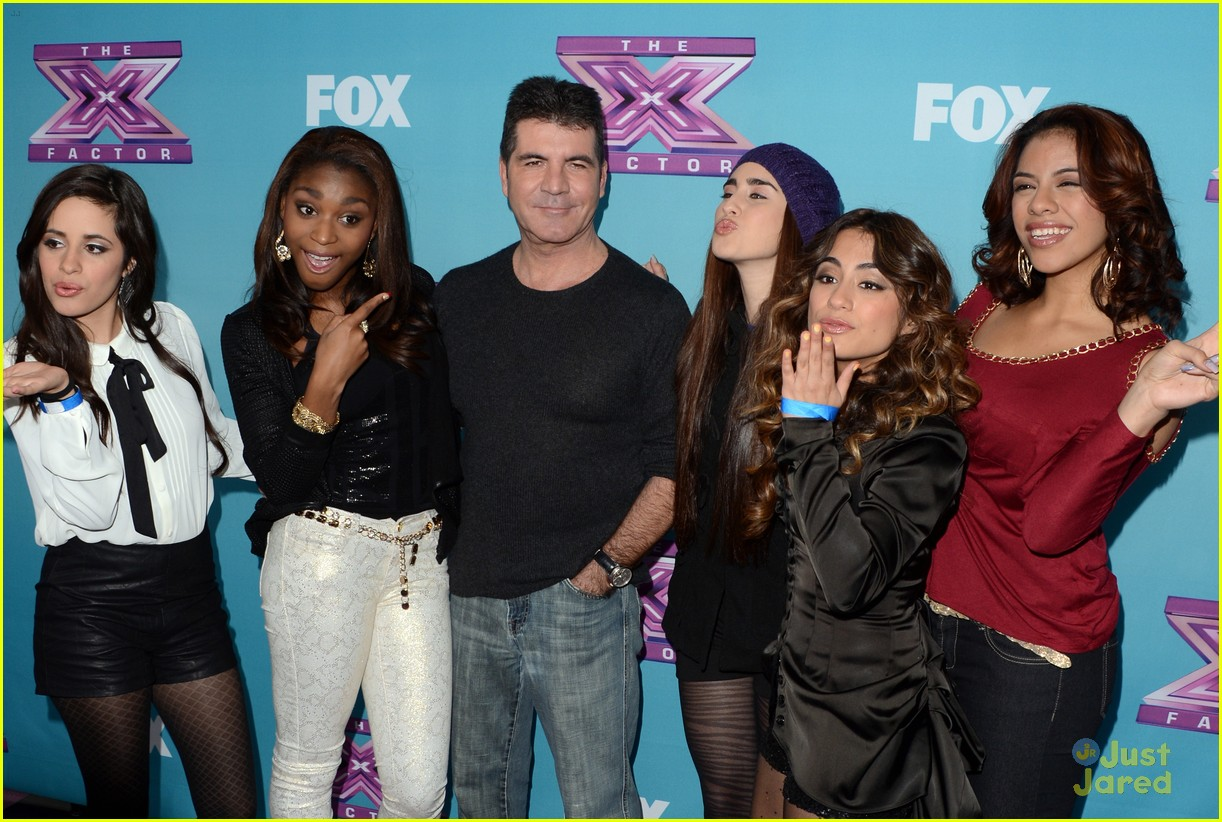fifth harmony xfactor conference 09