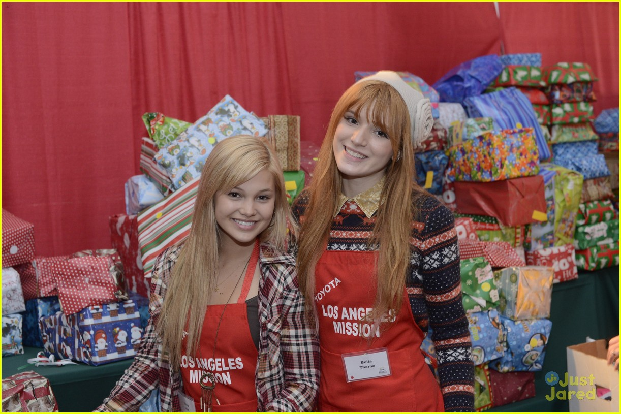 bella thorne olivia holt la mission 03