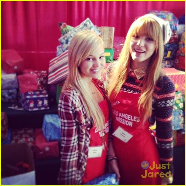 bella thorne olivia holt la mission 06