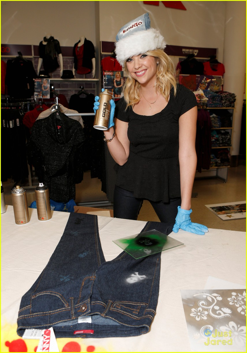 ashley benson bongo kitson 08
