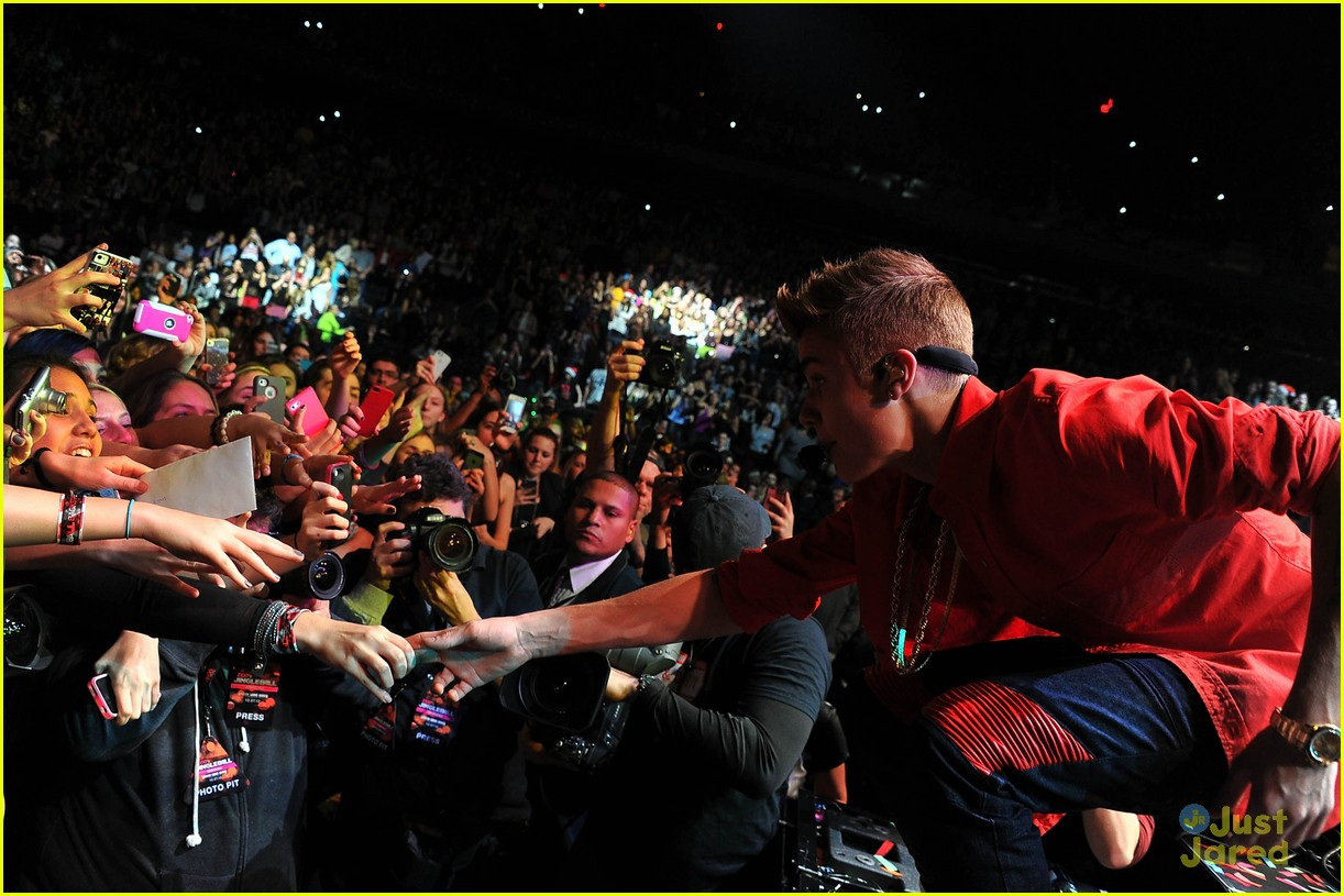 justin bieber z100 jingle ball 03