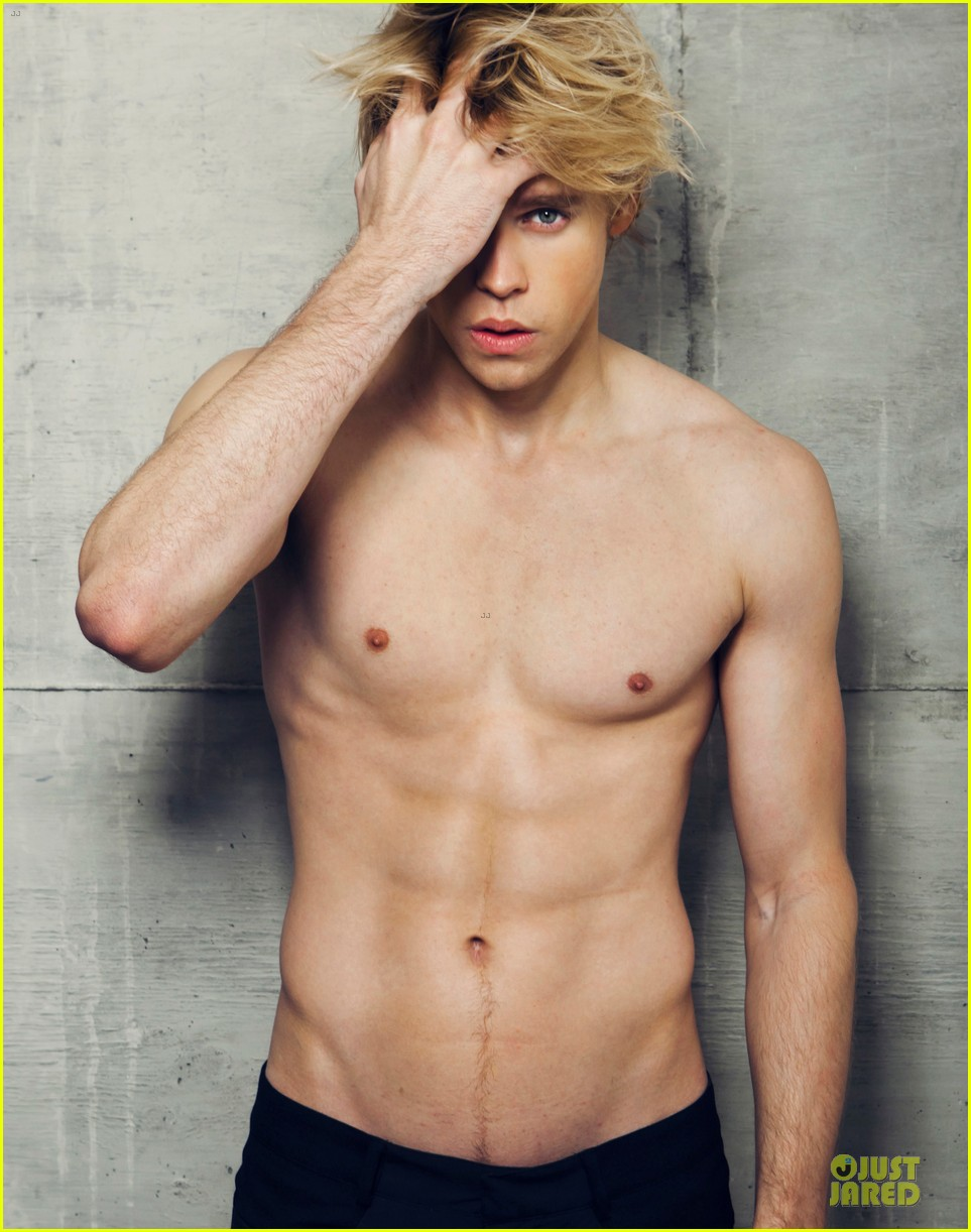 chord overstreet shirtless for dreamers nyc 04