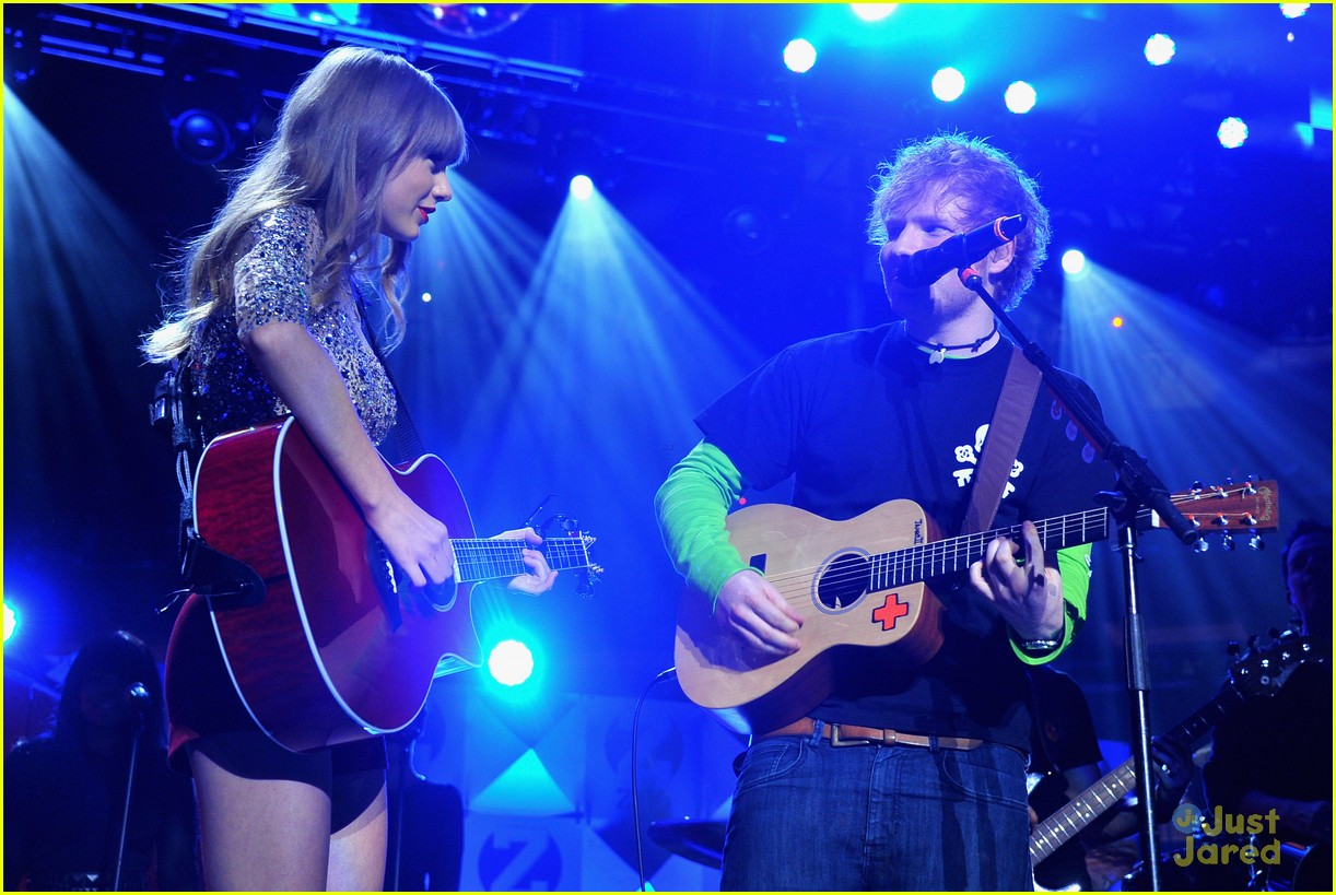 ed sheeran z100 jingle ball 07