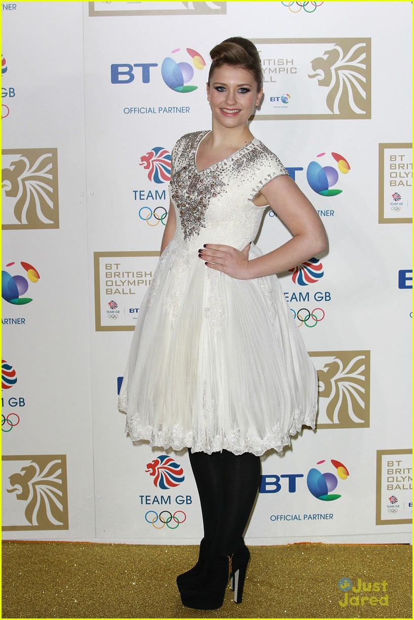 ella henderson british olympic ball 09