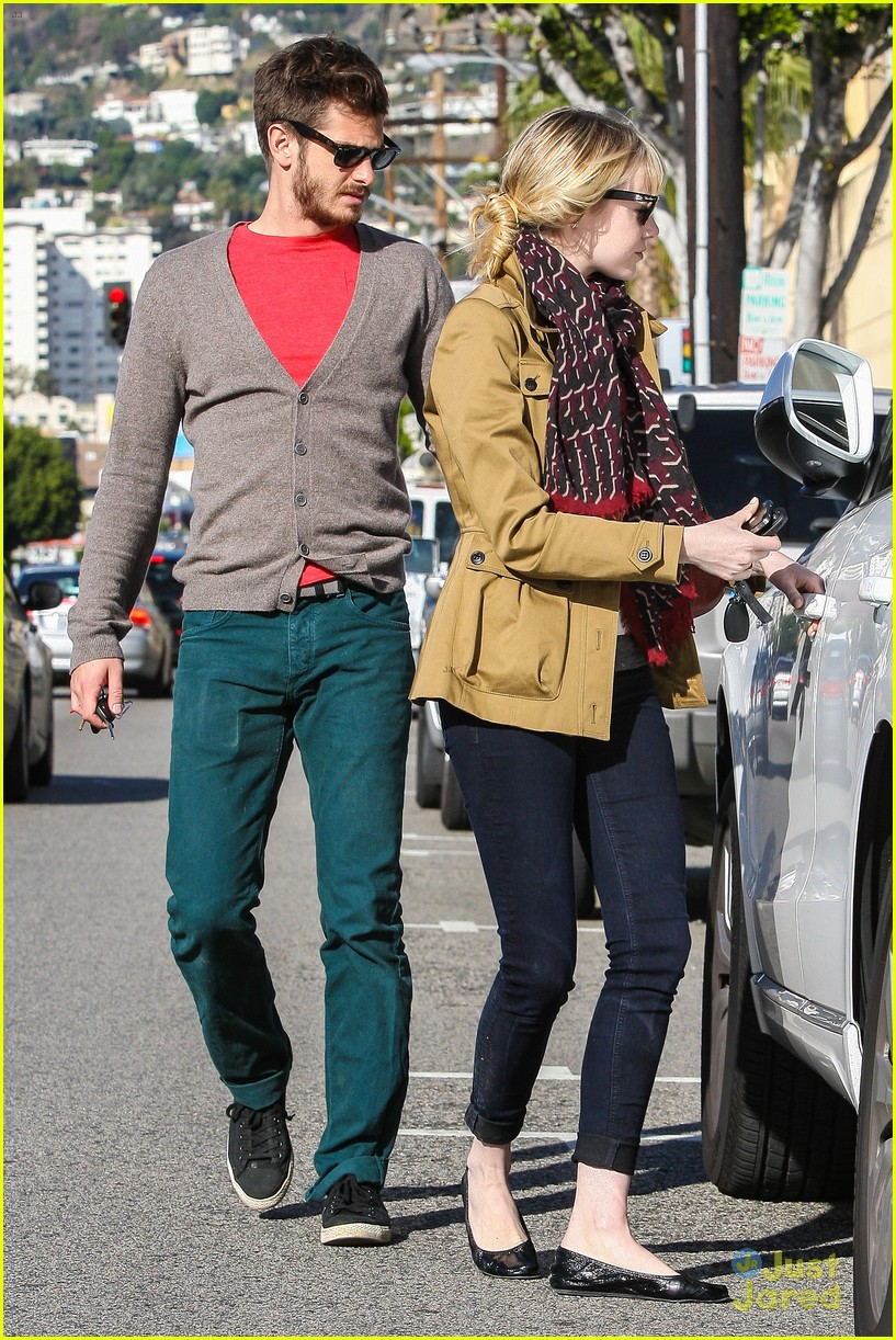 emma stone andrew garfield lunch 13