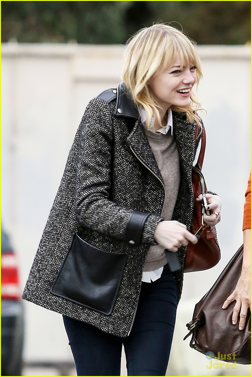 emma stone bubbly burbank 23