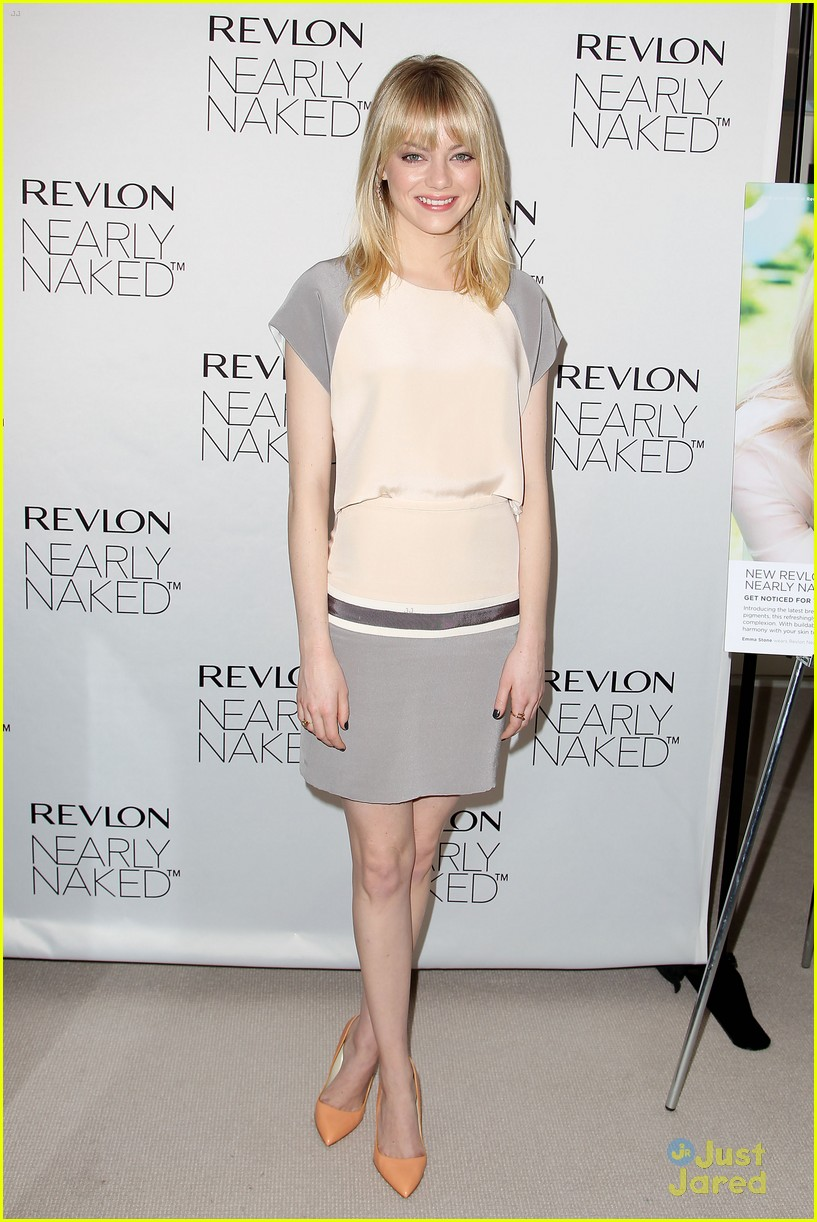 emma stone nearly naked revlon 12