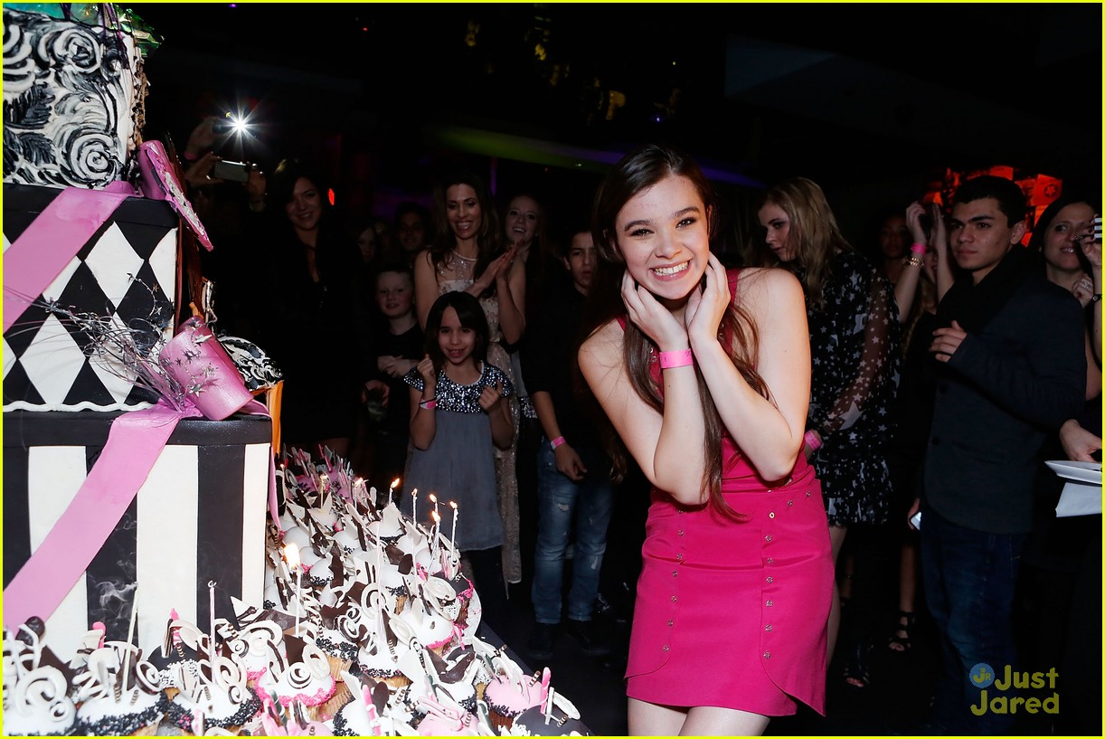 hailee steinfeld sweet 16 party 11