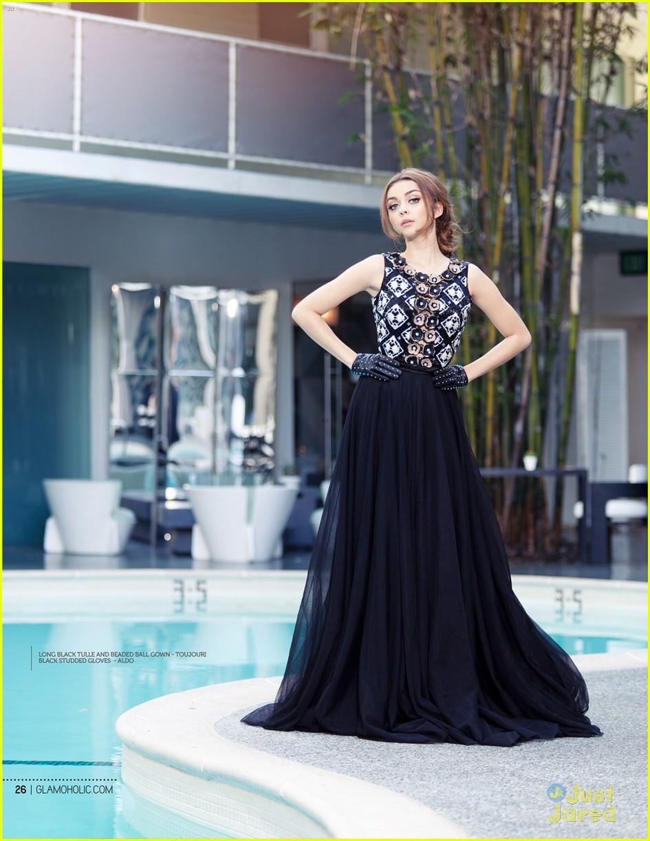 sarah hyland glamoholic december cover 06