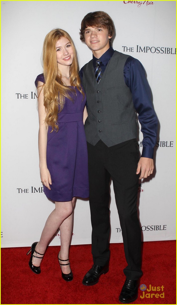 joel courtney impossible premiere 07