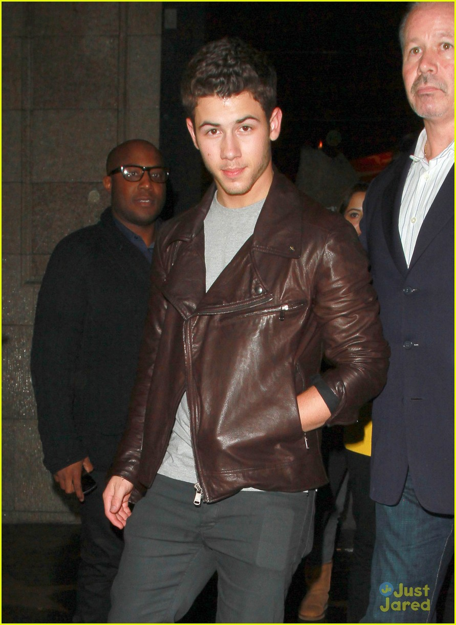 joe nick kevin jonas katsuya dinner 05