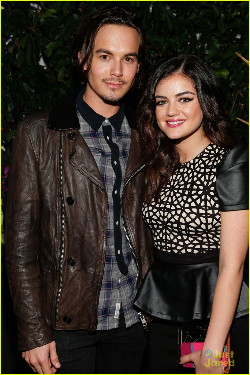 lucy hale nylon cover dinner 29