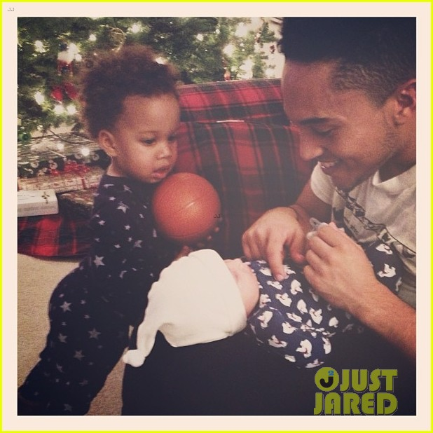 tahj mowry nephews christmas