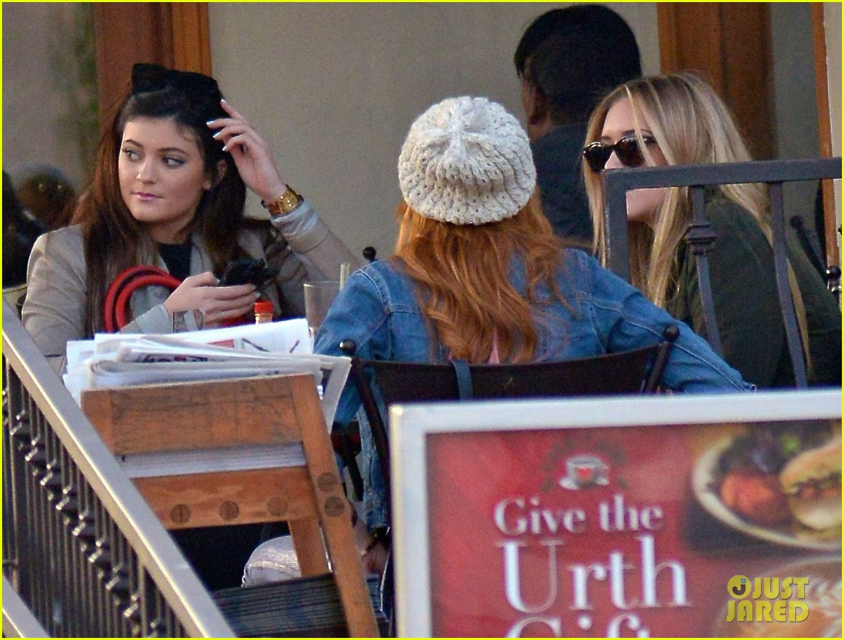 bela thorne kylie jenner lunch 23
