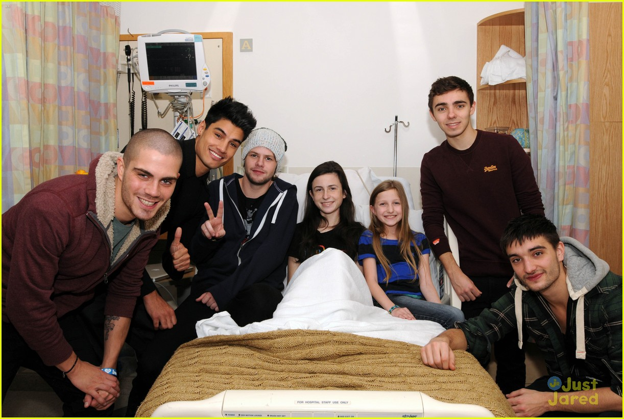 wanted jingle ball hospital visit 17