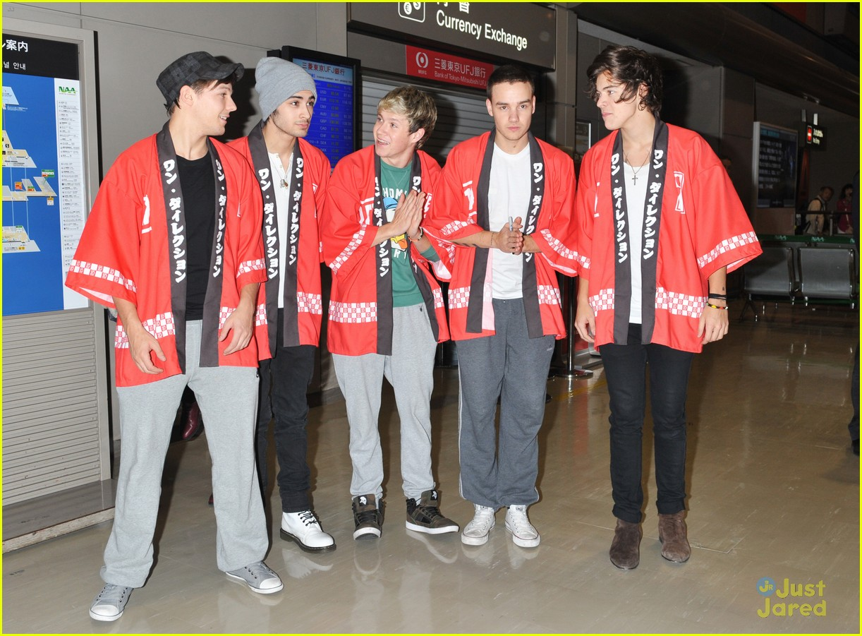 one direction tokyo arrival 03