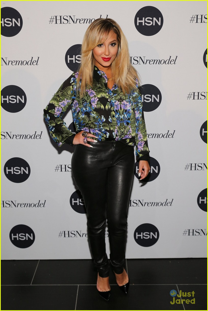 adrienne bailon new look hsn 08