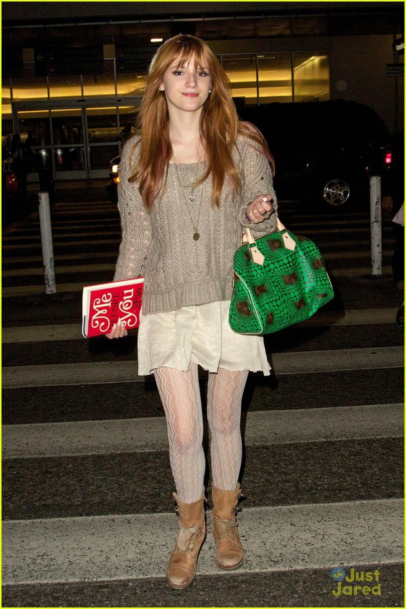 bella thorne lax green purse 02