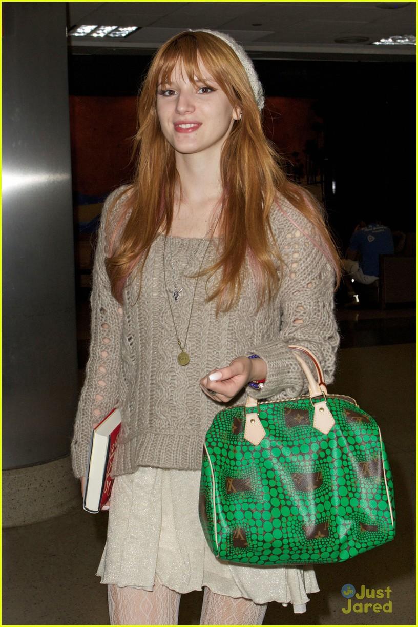 bella thorne lax green purse 04