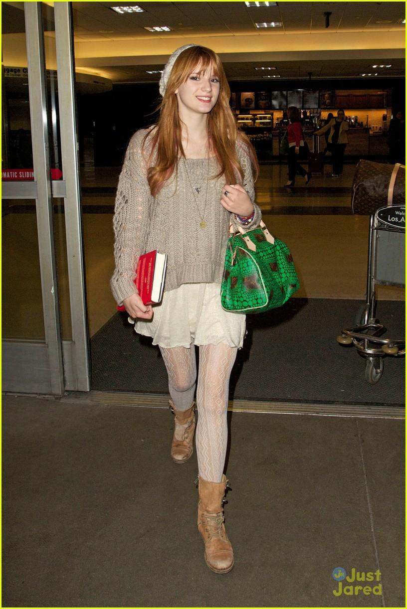 bella thorne lax green purse 05