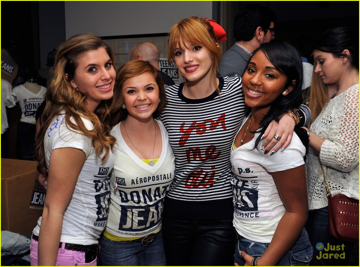 bella thorne teens jeans launch 05