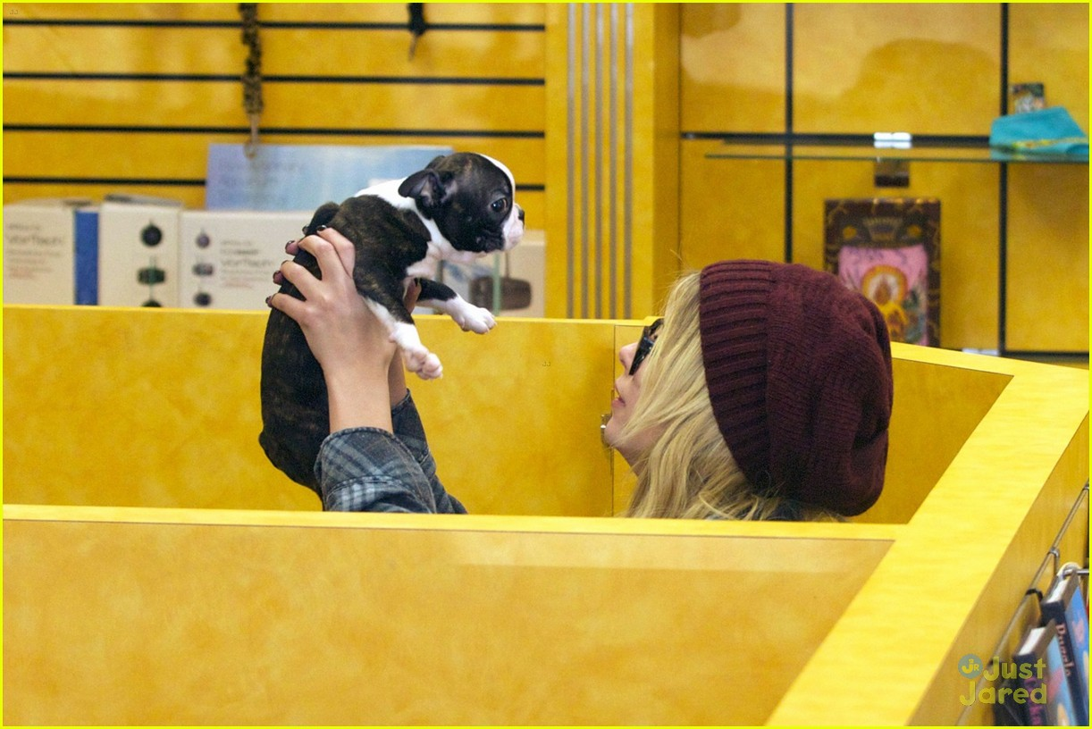 ashley benson puppy play 02