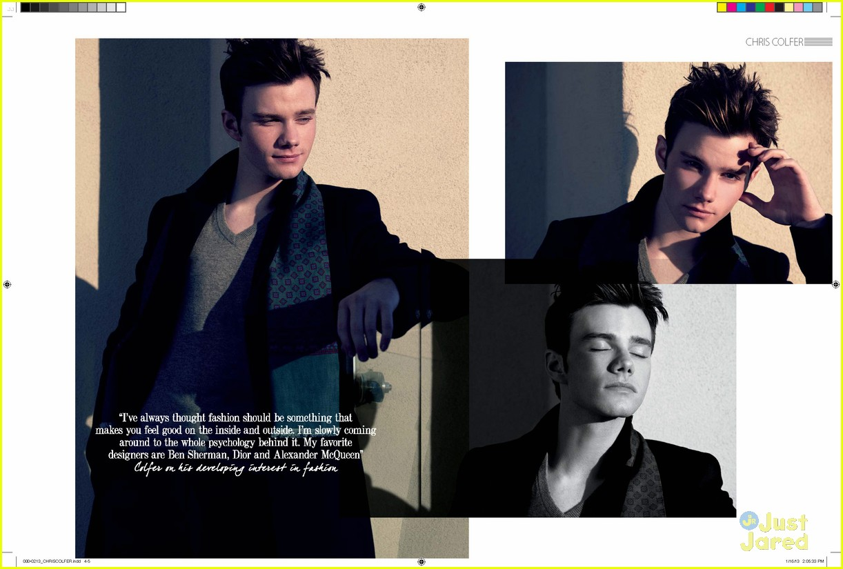 chris colfer august man 05