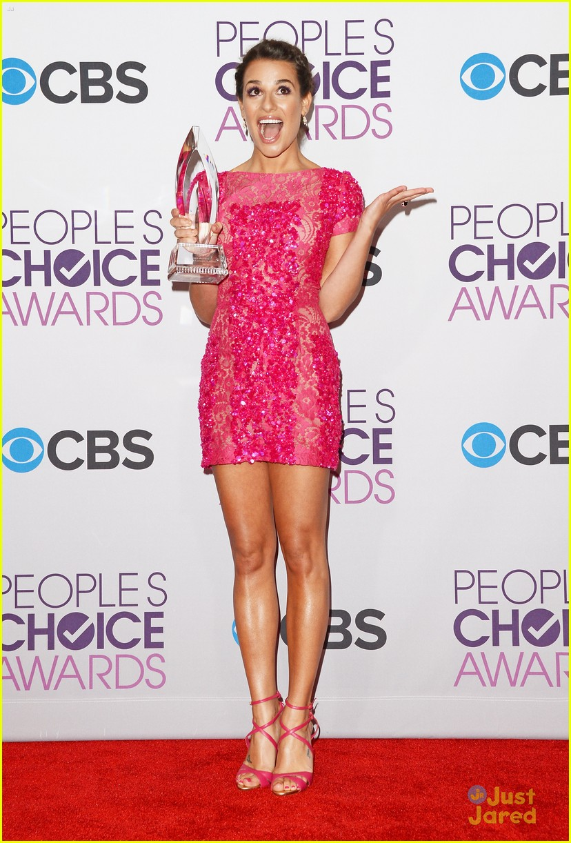chris colfer lea michele pca 2013 winners 19