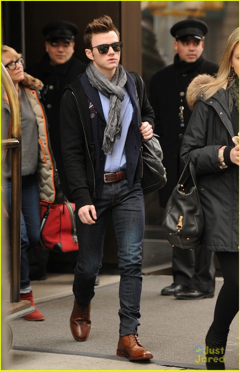 chris colfer struck nyc promo 02