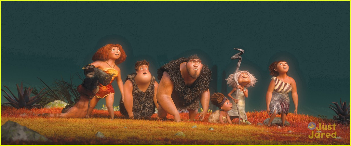 emma stone croods stills poster 10