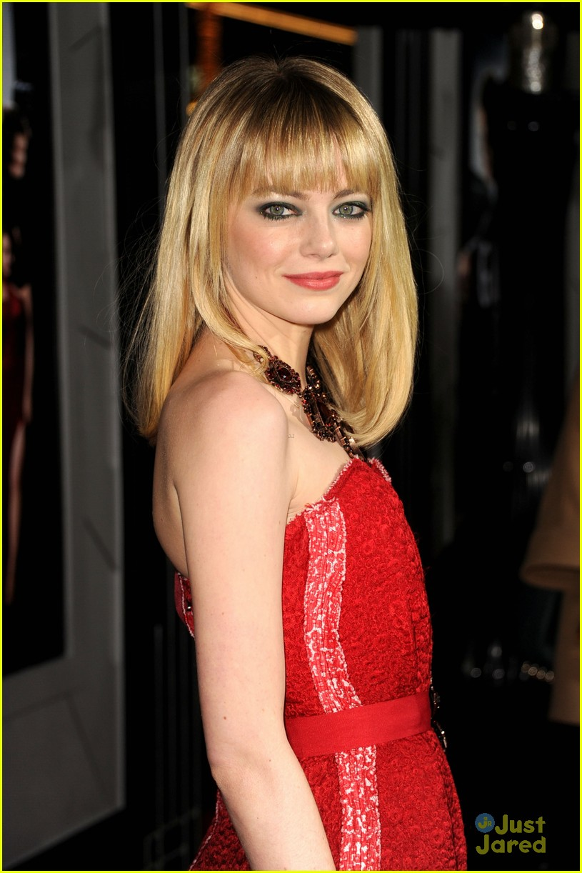 emma stone gangster premiere 07