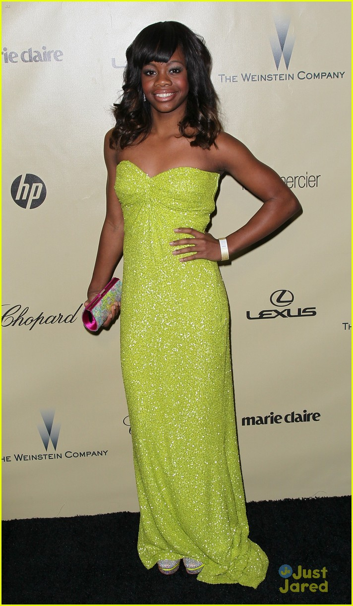 gabby douglas golden globe awards 11