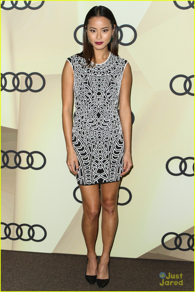 jamie chung audi gg party 11