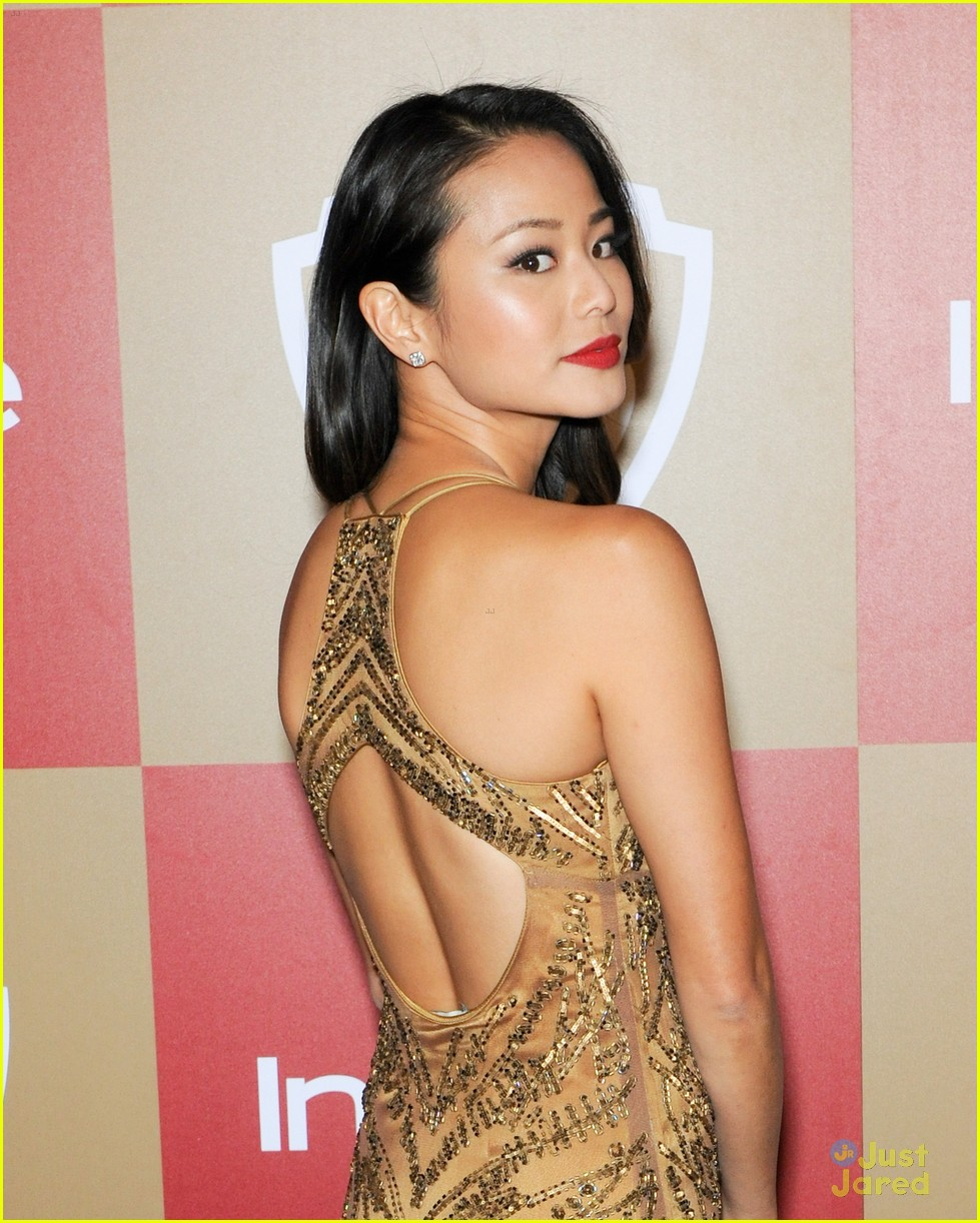 jamie chung jena malone instyle gg party 02