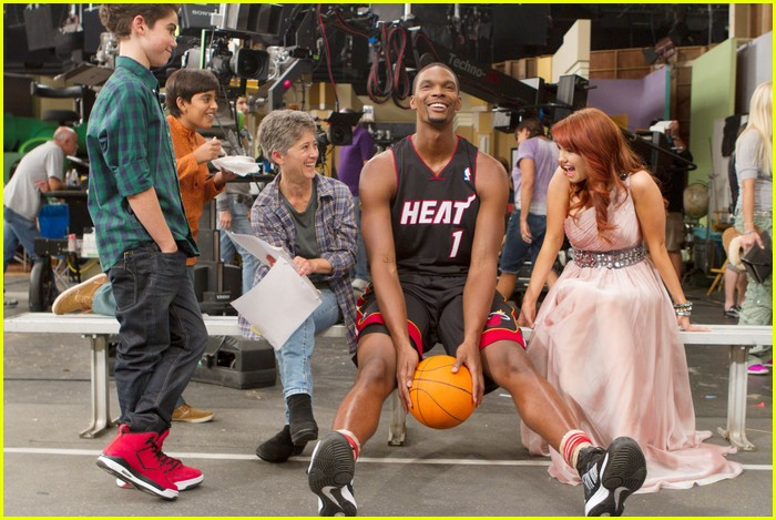chris bosh guest star jessie 15