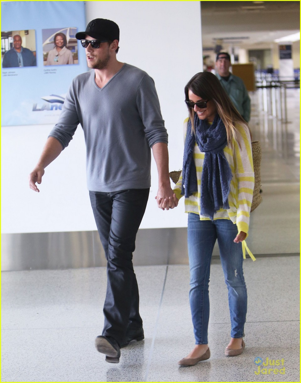 lea michele cory monteith lax 09