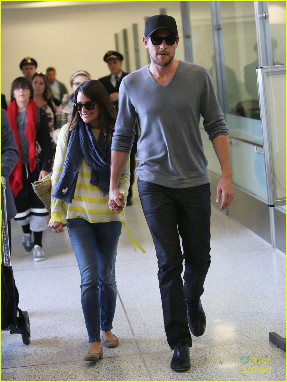 lea michele cory monteith lax 11