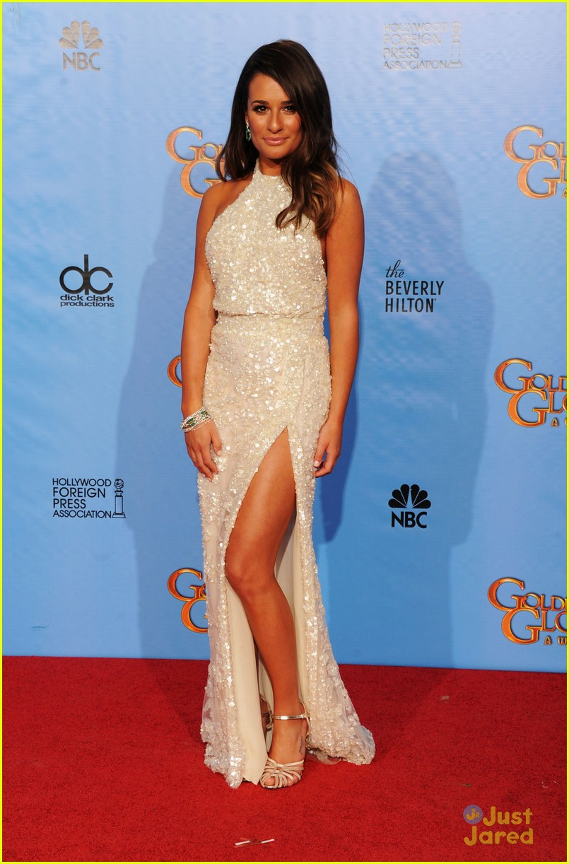 lea michele golden globes 04